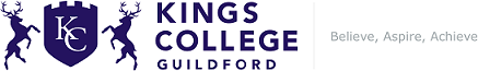 Logo for Kings College Guildford GLAC